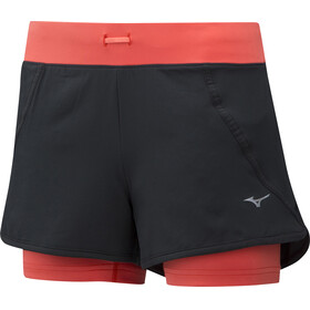 Mizuno Mujin 4.5 Running Shorts Women red/black